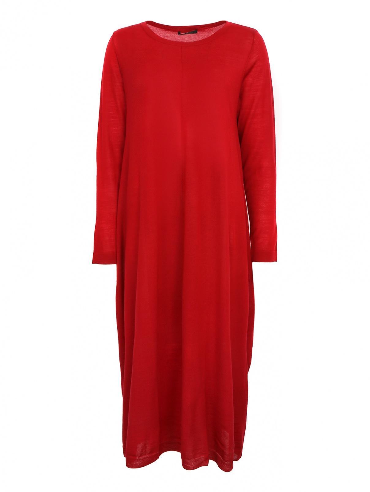 Платье из шерсти с подкладом Marina Rinaldi  –  Общий вид