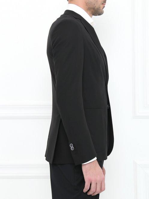 Пиджак из тонкой шерсти - Модель Верх-Низ2