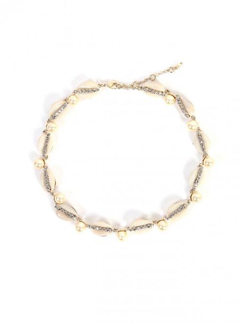 Ожерелье из ракушек и бусин - Общий вид