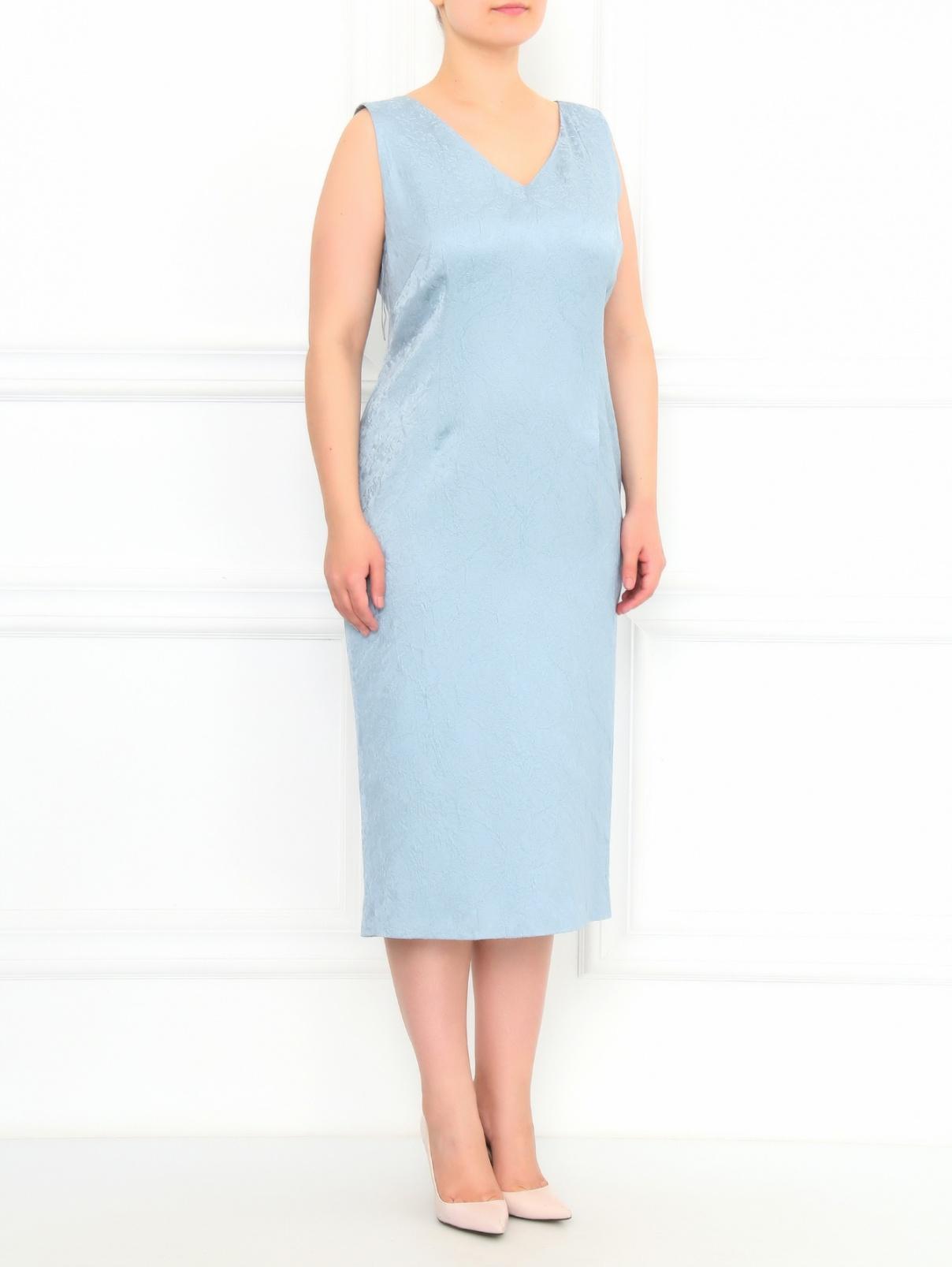 Платье-футляр без рукавов Marina Rinaldi  –  Модель Общий вид