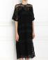 Платье из полупрозрачного кружева Aquilano Rimondi  –  Модель Верх-Низ