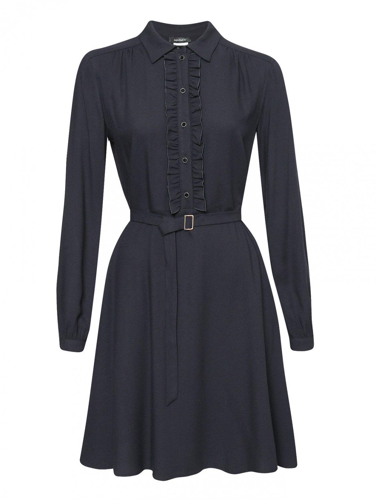 Платье-миди с поясом Max&Co  –  Общий вид