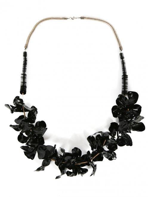 Ожерелье с декоративными цветами - Общий вид