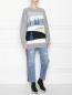 Джемпер из шерсти с рисунком CLOSED  –  МодельОбщийВид