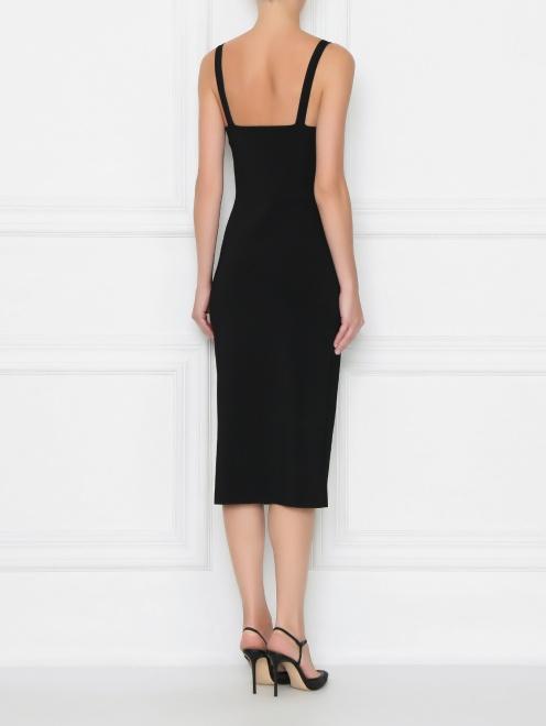Платье трикотажное из вискозы - МодельВерхНиз1