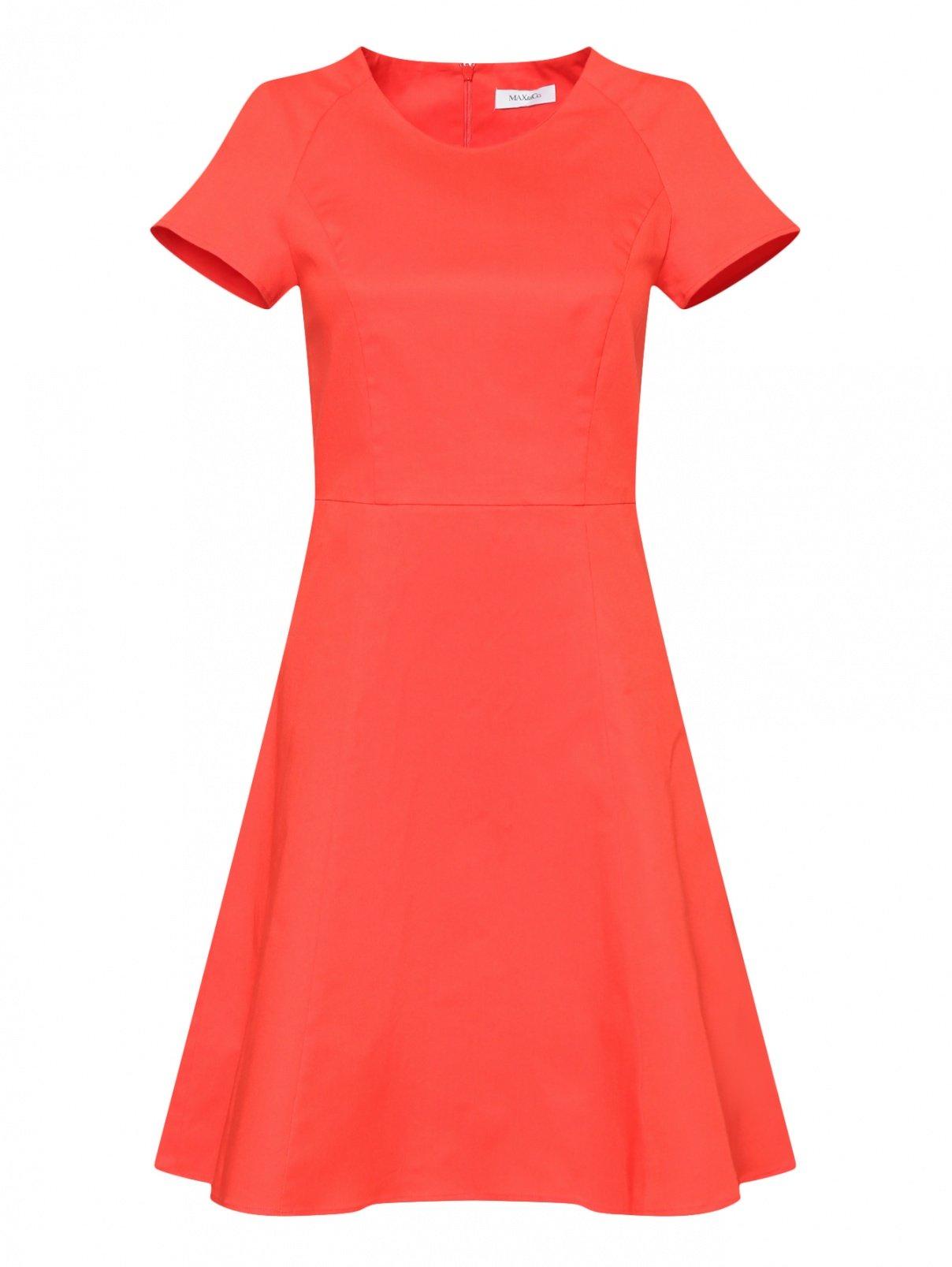Платье-мини из хлопка Max&Co  –  Общий вид