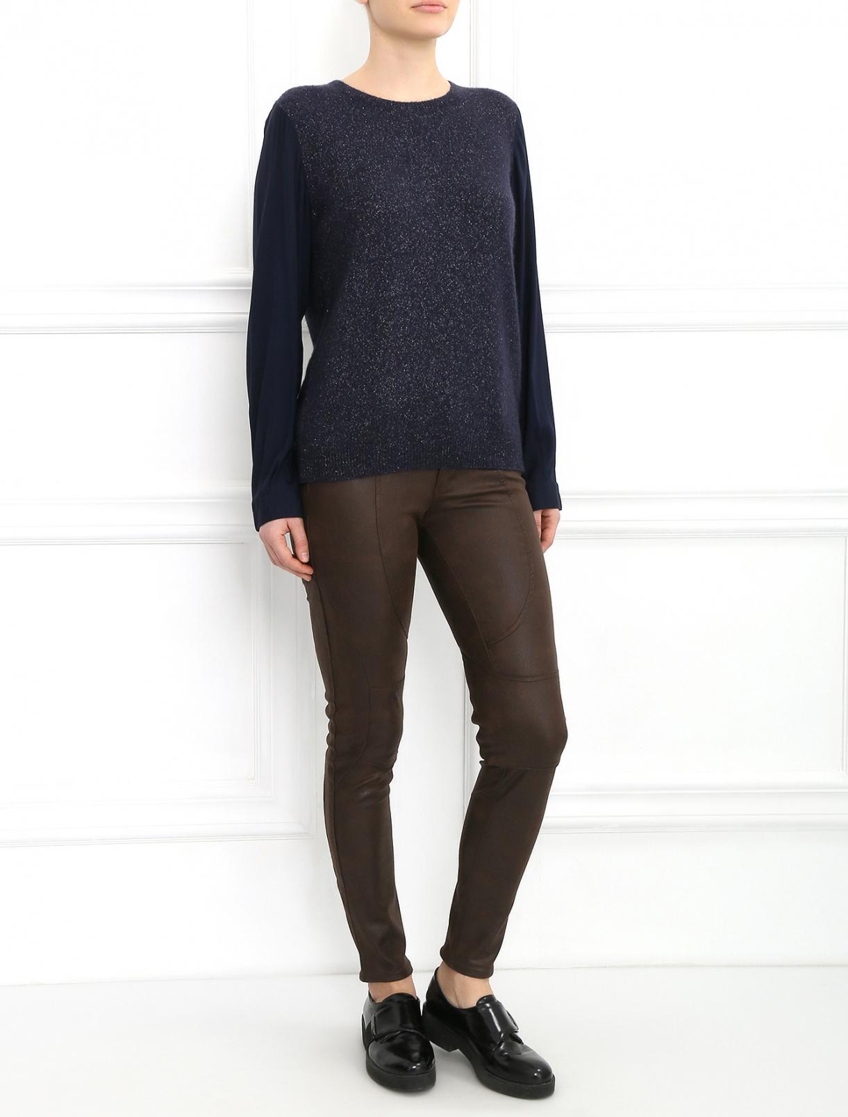Узкие брюки Black Orchid  –  Модель Общий вид  – Цвет:  Коричневый