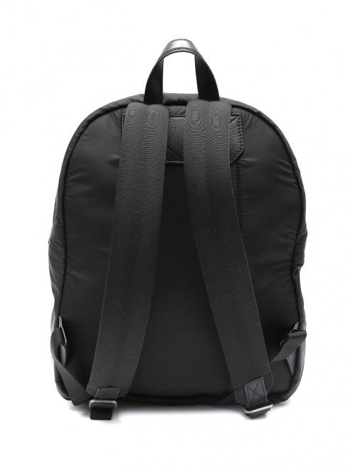 Рюкзак дутый из нейлона  - Обтравка2