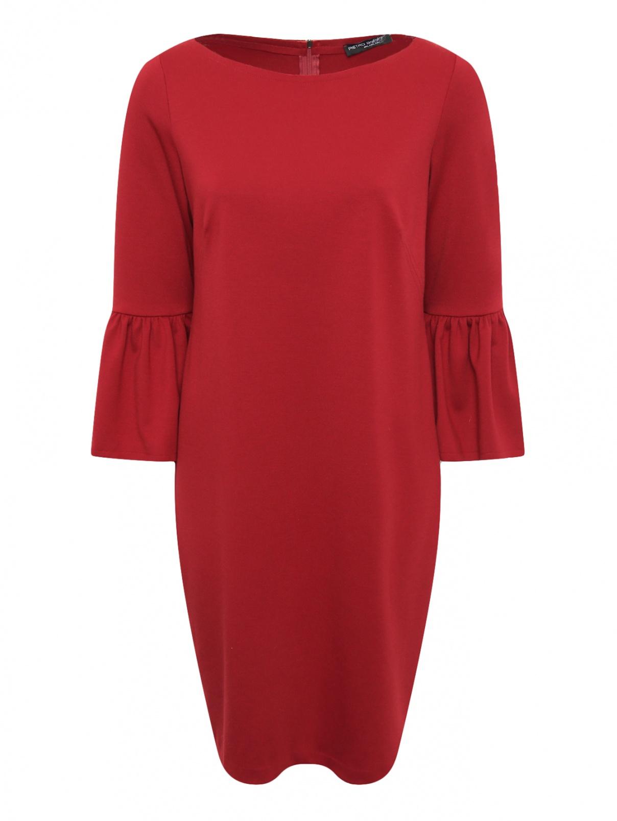 Платье-мини с рукавами 3/4 Pietro Brunelli  –  Общий вид
