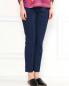 Узкие трикотажные укороченные брюки Diane von Furstenberg  –  Модель Верх-Низ