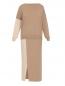 Комплект трикотажный из юбки и джемпера, шерстяной Max&Co  –  Обтравка1