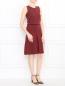 Платье-мини из хлопка без рукавов Jil Sander  –  Модель Общий вид