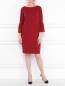 Платье-мини с рукавами 3/4 Pietro Brunelli  –  МодельОбщийВид