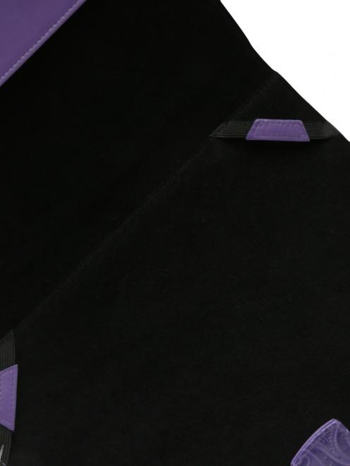 Чехол для iPad из кожи с тиснением - Деталь1