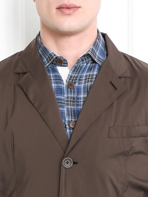 Пиджак из влагоотталкивающей ткани - Модель Общий вид1