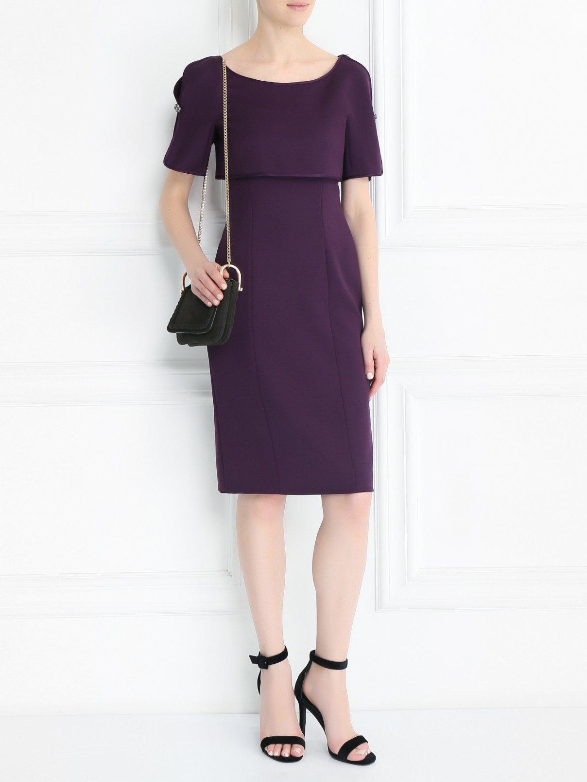 Платье-мини из шерсти Alberta Ferretti  –  Модель Общий вид
