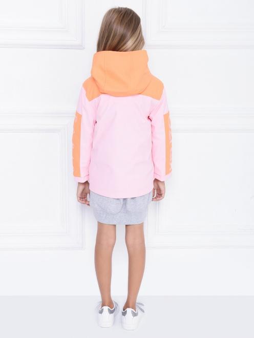 Куртка ветрозащитная с капюшоном - МодельВерхНиз1