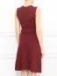 Платье-мини из хлопка без рукавов Jil Sander  –  Модель Верх-Низ1