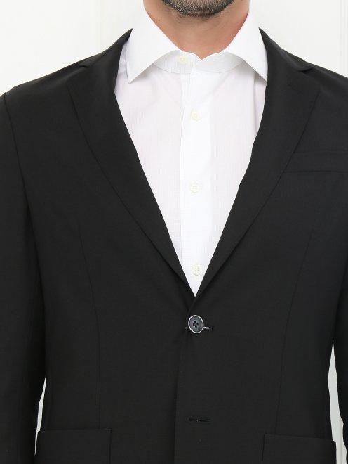 Пиджак из тонкой шерсти - Модель Общий вид1