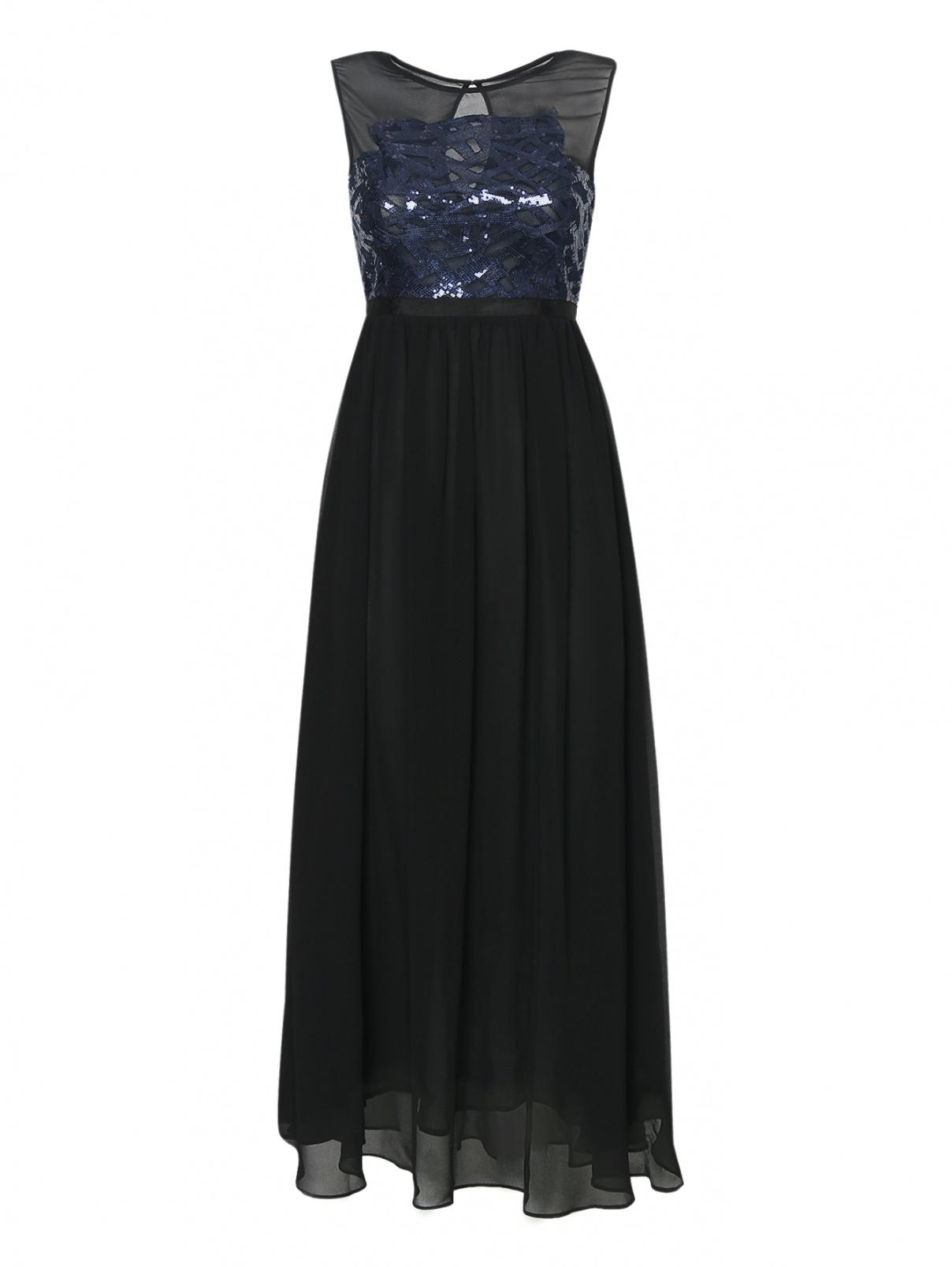 Платье-макси, с вышивкой пайетками Max&Co  –  Общий вид
