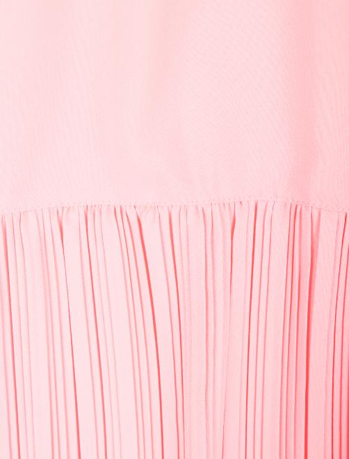 Платье-макси свободного кроя без рукавов - Деталь