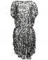 Платье свободного кроя декорированное пайетками MM6  –  Общий вид