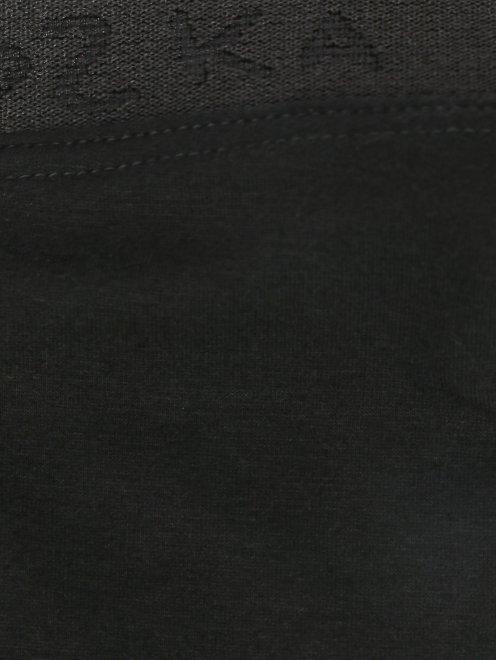 Трикотажные легинсы из смешанного хлопка - Деталь
