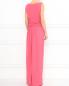 Платье-макси из шелка с драпировкой Moschino  –  Модель Верх-Низ1