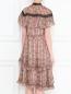 Платье с цветочным узором Elliatt  –  МодельВерхНиз1