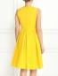 Платье из хлопка с драпировкой S Max Mara  –  Модель Верх-Низ1