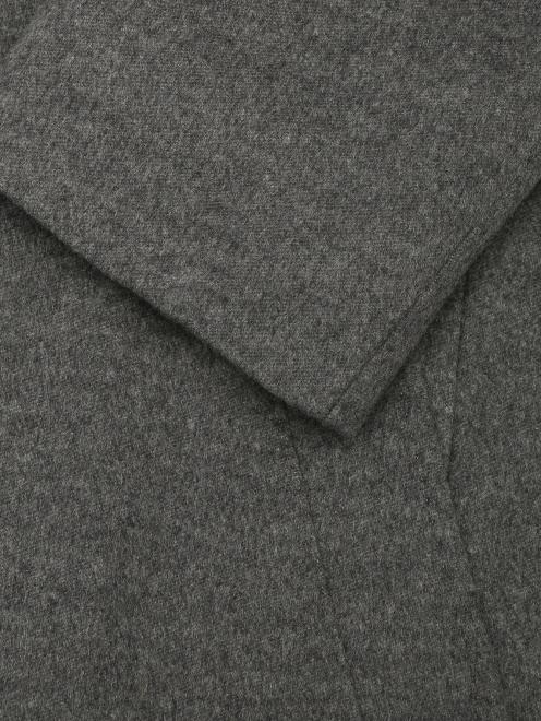 Пальто из кашемира на пуговицах  - Деталь1