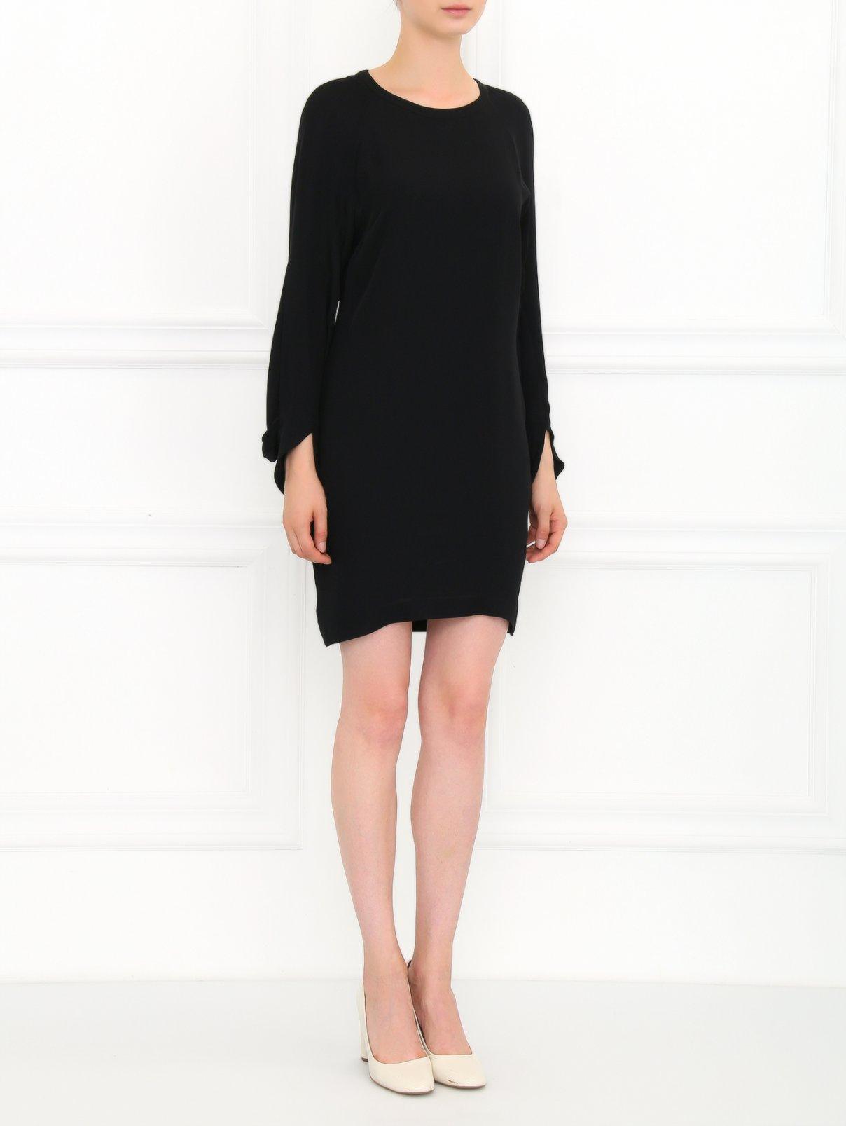Платье из шелка Barbara Bui  –  Модель Общий вид