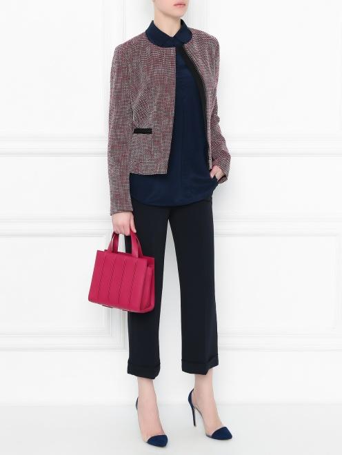 Жакет с накладными карманами - Общий вид