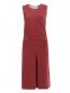 Платье-мини из хлопка без рукавов Jil Sander  –  Общий вид