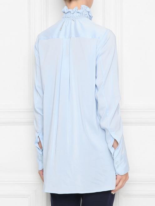 Блуза из шелка со сборкой - МодельВерхНиз1