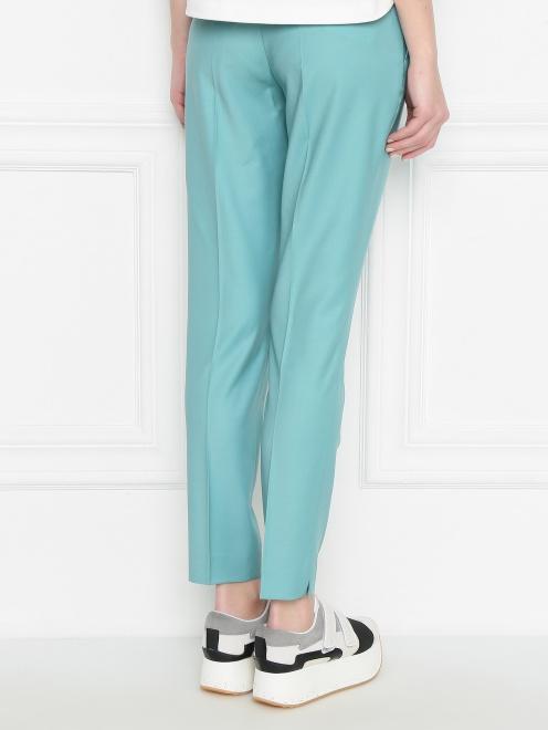 Укороченные брюки из шерсти со стрелками - МодельВерхНиз1