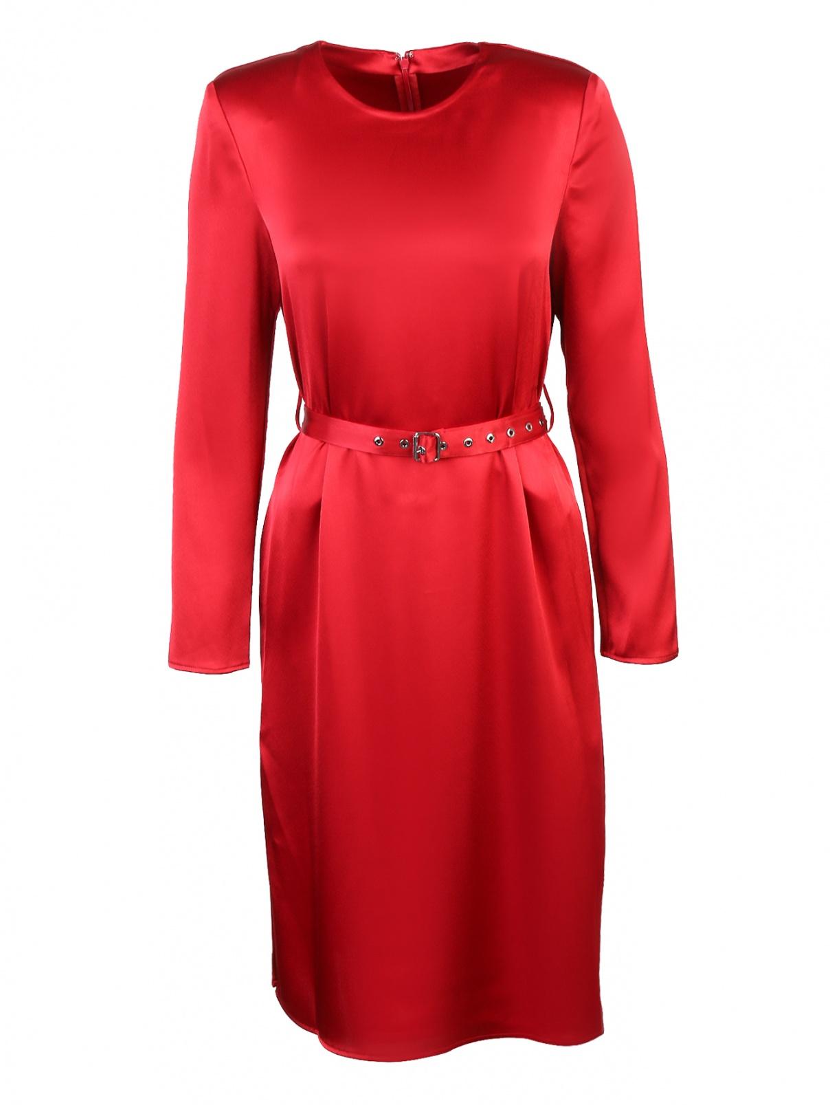 Платье-миди с поясом Edition10  –  Общий вид
