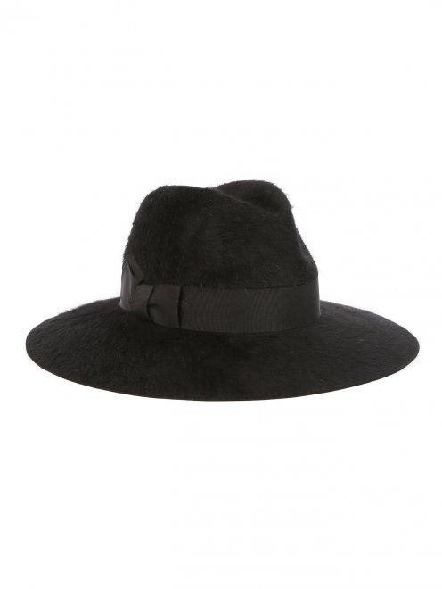 Шляпа из шерсти с широкими полями - Общий вид