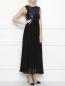 Платье-макси, с вышивкой пайетками Max&Co  –  МодельОбщийВид