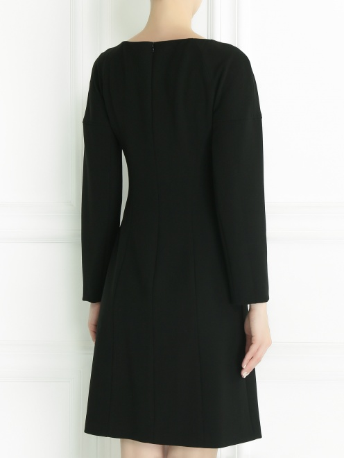 Платье с длинным рукавом - Модель Верх-Низ1