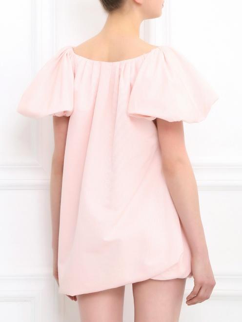 Платье-мини из хлопка - Модель Верх-Низ1