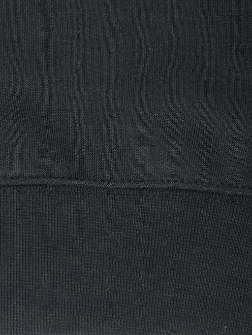Свитшот из хлопка с вышивкой - Деталь1