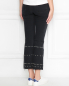 Укороченные джинсы с металлической фурнитурой M.i.h Jeans  –  МодельВерхНиз1