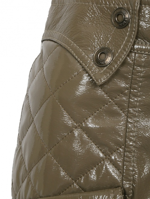 Юбка-мини из фактурной ткани - Деталь1