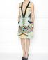Платье-мини с V-образным вырезом Etro  –  Модель Общий вид