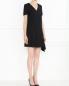 Платье-мини из шерсти с декоративной молнией Marc by Marc Jacobs  –  Модель Общий вид