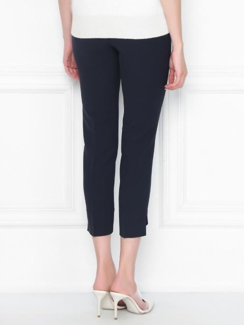 Укороченные брюки с боковыми карманами - МодельВерхНиз1