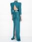 Платье-макси с открытой спиной Elisabetta Franchi  –  МодельВерхНиз1