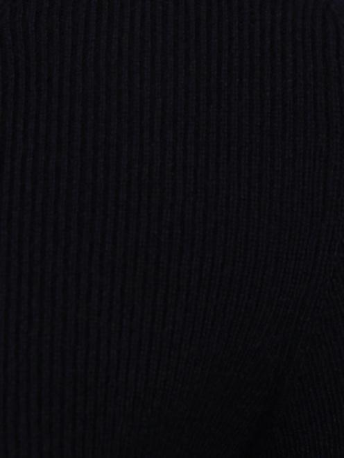 Джемпер из кашемира мелкой вязки - Деталь