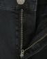 Укороченные джинсы с металлической фурнитурой M.i.h Jeans  –  Деталь1